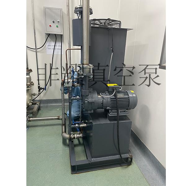风冷式自循环水环真空泵机组
