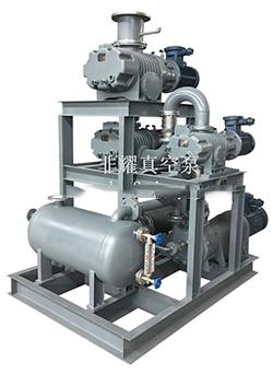 罗茨水环真空机组 罗茨液环真空机组 罗茨水环真空泵机组 非耀罗茨真空泵机组厂家