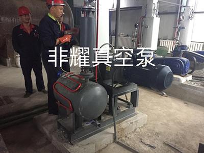 螺杆式真空泵机组 螺杆真空泵机组 杭州螺杆式真空泵机组生产厂家 螺杆式真空泵机组客户案例