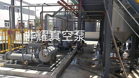 精馏用罗茨液环真空机组 罗茨水环真空泵机组 罗茨真空机组应用案例