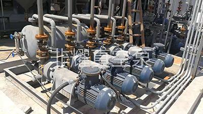 水环真空泵机组 水环真空机组 水环真空机组应用现场 化学浓缩用水环真空泵机组使用现场
