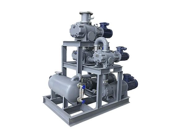 罗茨泵+水环真空泵机组