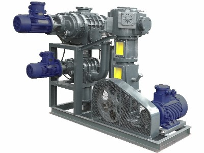 罗茨泵+往复真空泵机组