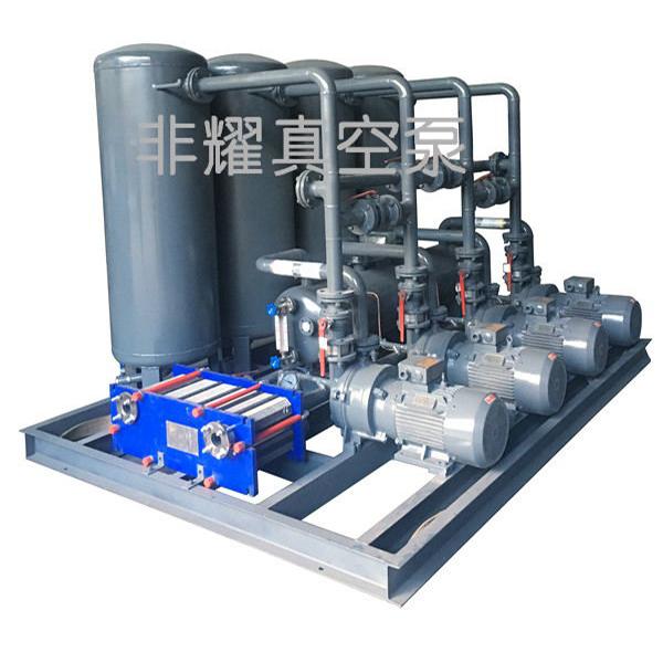 水环真空泵运行方式