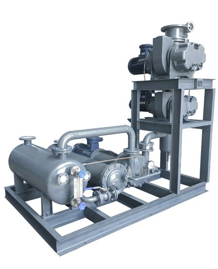 罗茨水环真空泵机组