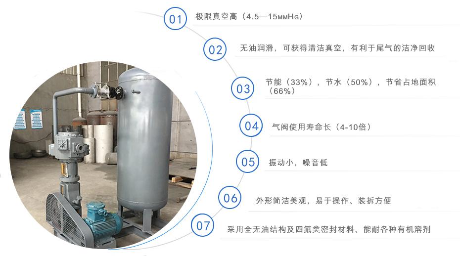 WLW系列无油立式往复式真空泵
