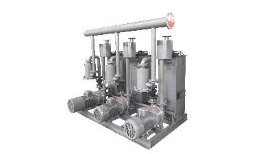 水环真空泵机组这么设计可以节约99%的水资源