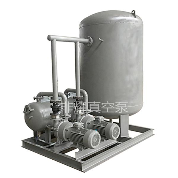 水环真空泵机组内漏